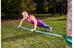 GIBBON Fitness Line Slackline 15 m blå